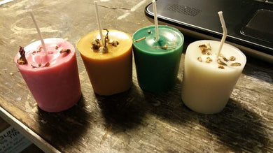 100% Soy Wax Candles Votives