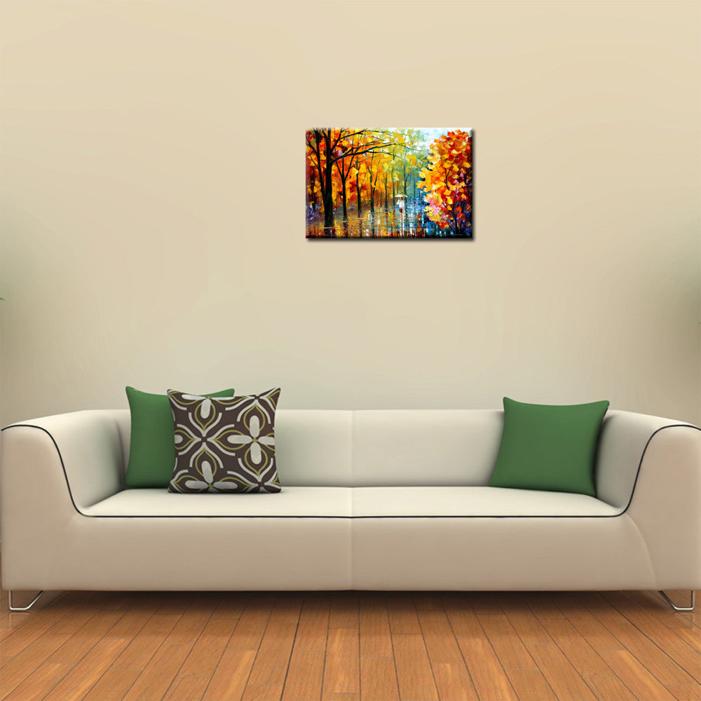 Oil Painting For Living Room Abstract Oil Painting Canvas Print Living Room Woman In White