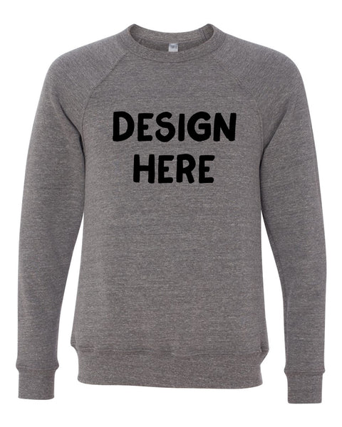 Unisex Adult Crewneck Fleece