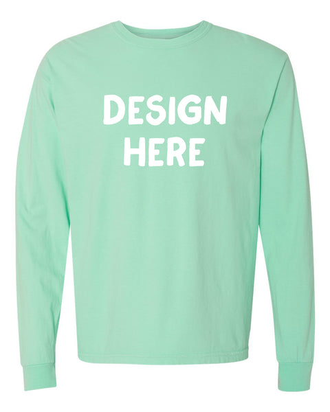 Unisex Adult Comfort Colors Long Sleeve