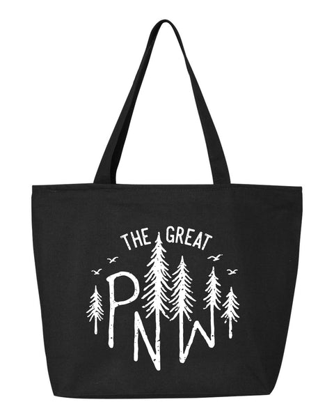 The Great PNW Zipper Tote