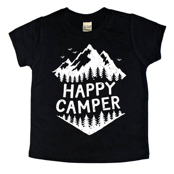 "Kids ""Happy Camper"" T-Shirt"