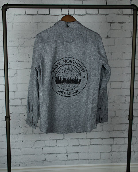 RTS SMALL- Circle PNW- Grey Flannel