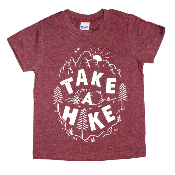 "Kids ""(tent) Take A Hike"" T-Shirt"