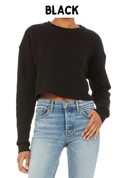 Women's Crop Crew Fleece