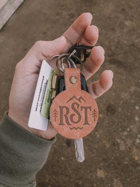 RST Leather Keychain