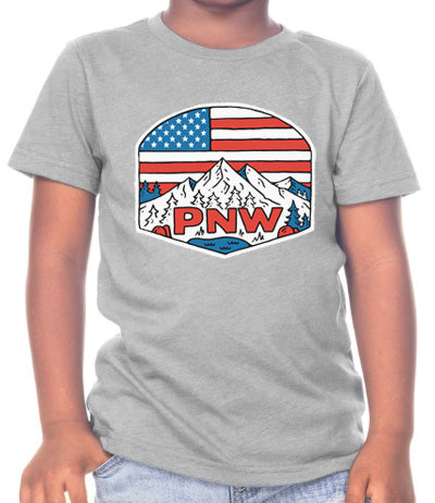 "Kids ""Patriotic PNW"" T-Shirt"