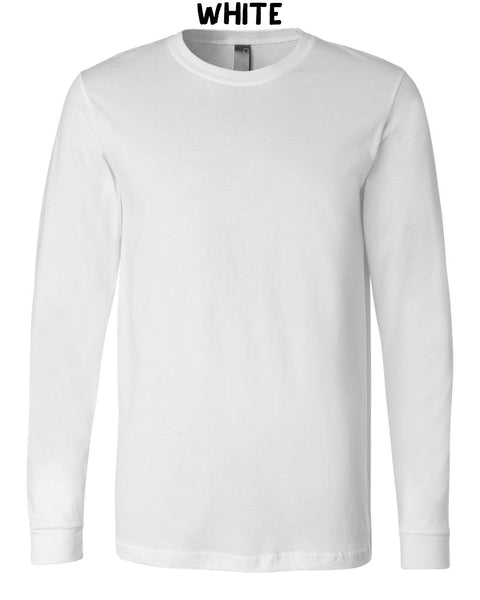 Unisex Adult Long Sleeve