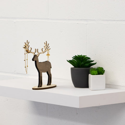 Wild Deer Jewellery Stand Small