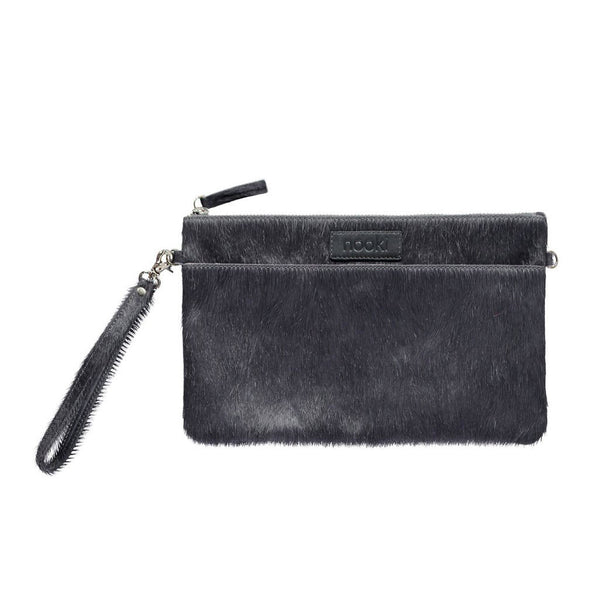 Luxe Leather Clutch