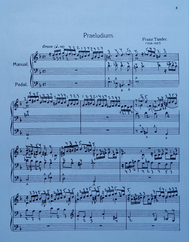Praeludium in g by Franz Tunder