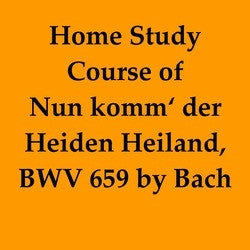 BWV 659 Home Study Course