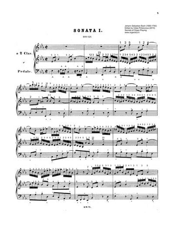 Trio Sonata in Eb Major, BWV 525 by Bach