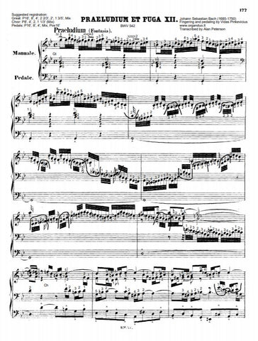 Fantasia and Fugue in G Minor, BWV 542 by J.S. Bach