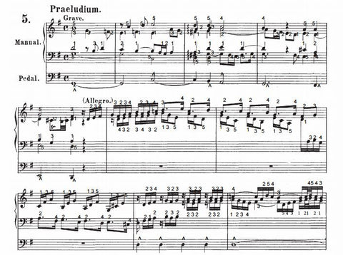Prelude and Fugue in G Major, BWV 557