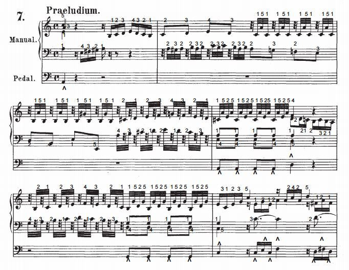 Prelude and Fugue in A Minor, BWV 559