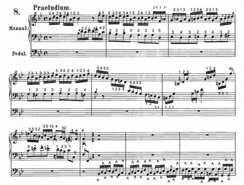 Prelude and Fugue in Bb Major, BWV 560