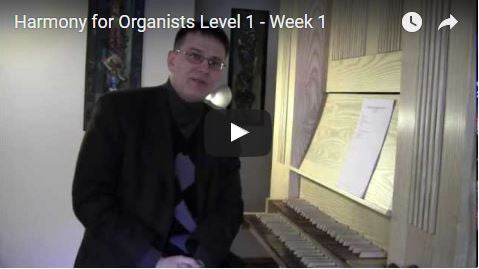 Harmony for Organists (Level 1)