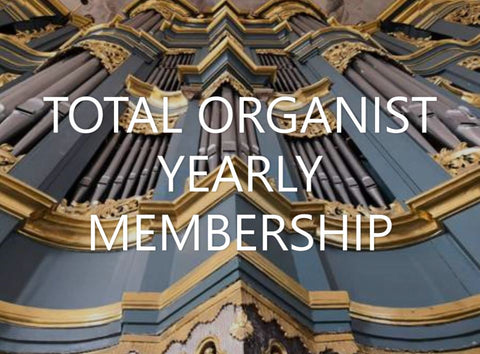 Total Organist Yearly Membership