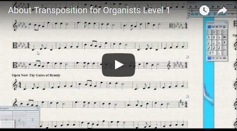 Transposition for Organists (Level 1)