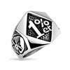 1% Stainless Steel Ring - thatringshop