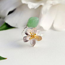 Lotus Whisper Ring