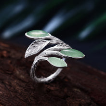 Life of Spring Leaves Ring