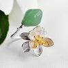 Lotus Whispers Aventurine Ring - thatringshop