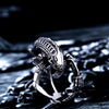 Alien Stainless Steel Ring - thatringshop
