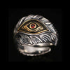 God's Eye Sterling Silver Ring - thatringshop