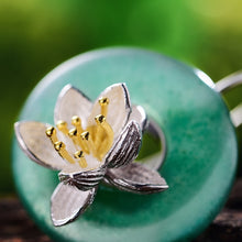 Lotus Jade Earrings