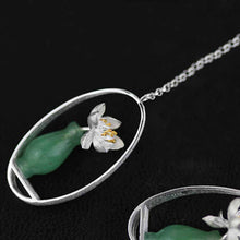 Jardin Aventurine Vase Drop Earrings
