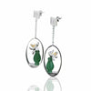 Jardin Aventurine Vase Drop Earrings - thatringshop