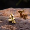 Jardin Honey Bee Stud Earrings - thatringshop