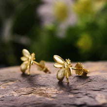 Jardin Honey Bee Stud Earrings
