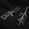 Jardin Tree Branch Drop Earrings - thatringshop