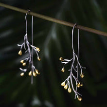 Jardin Tree Branch Drop Earrings