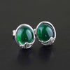 Jardin Vintage Agate Stud Earrings - thatringshop