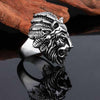 Lannister Lion Signet Stainless Steel Ring - thatringshop