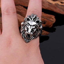 Lannister Lion Signet Stainless Steel Ring