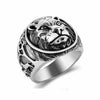 Lion's Heart Sterling Silver Ring - thatringshop
