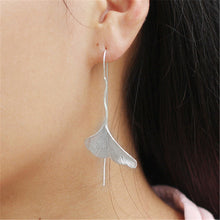 Jardin Ginkgo Leaf Drop Earrings