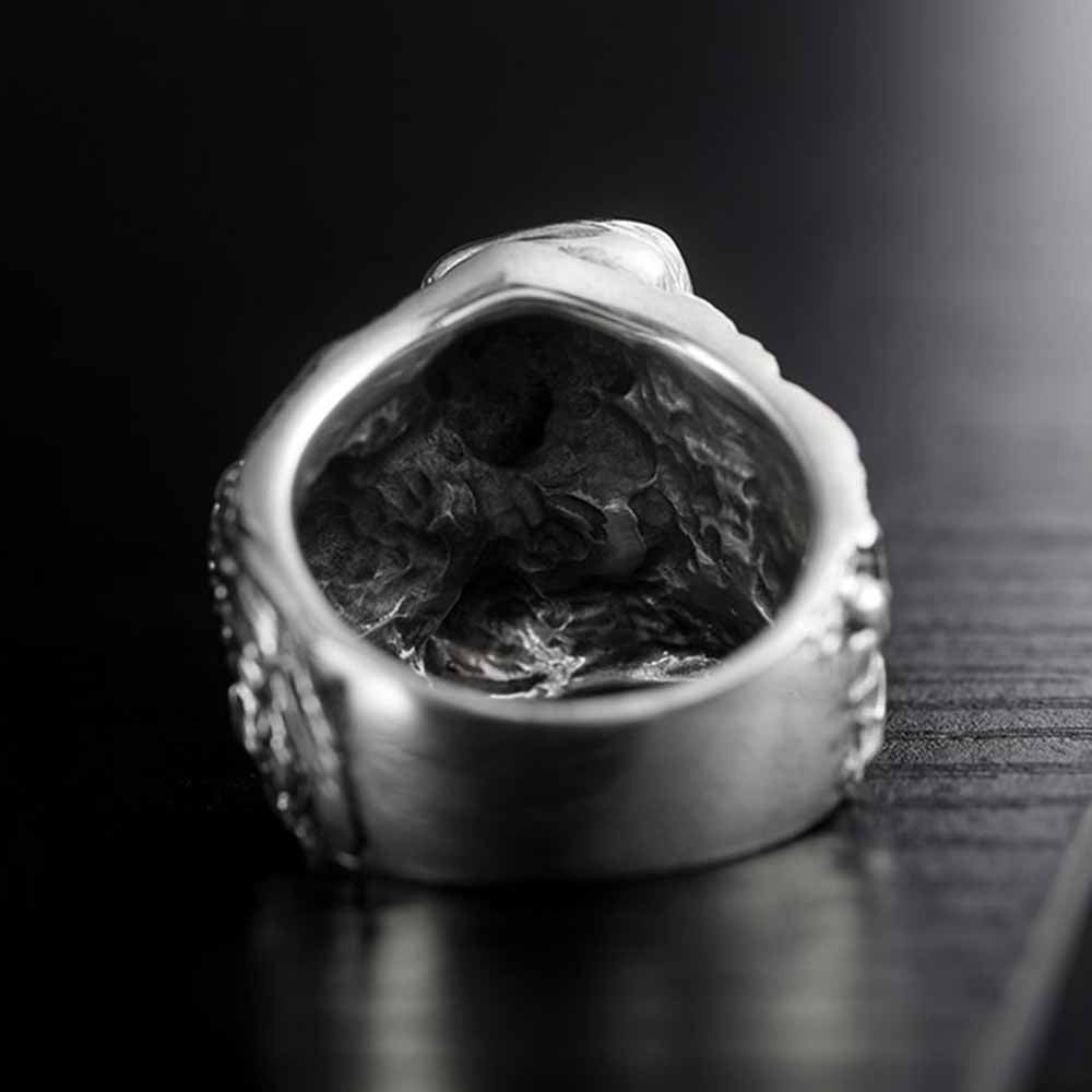 Reaper Romance Sterling Silver Ring