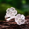 Flower Pair In The Rain Ring - thatringshop