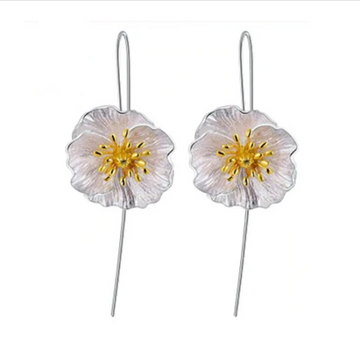 Blooming Poppies Earrings