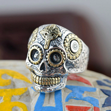 Courageous Punk Skull Ring