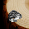 Vintage Eagle Wings Sterling Silver Ring - thatringshop