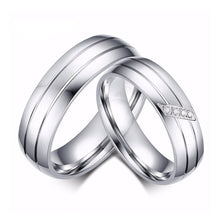 Lover Charms Couple Rings