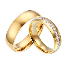 Promise Love Couple Rings