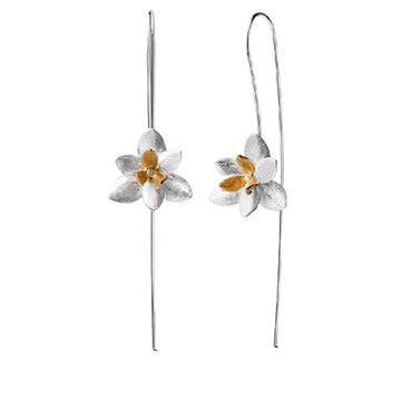 Blooming Orchid Earrings